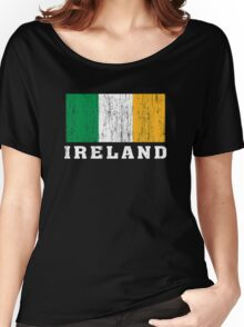 Ireland Flag Women's Relaxed Fit T-Shirt