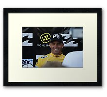 Champion's Smile Framed Print