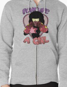 Fight Like A Girl (Crystal Gem) T-Shirt