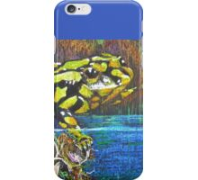 Australian Corroboree Frog in Pastel  iPhone Case/Skin