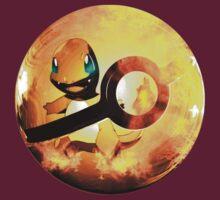 Charmander | Pokeball Art by SALSAMAN