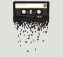 The death of the cassette tape. by Rob Price