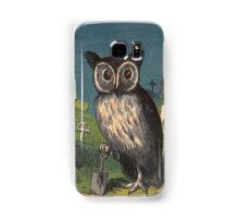 owl the gravedigger Samsung Galaxy Case/Skin