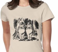 Tweedledum & Tweedledee Womens Fitted T-Shirt