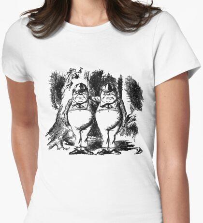 Tweedledum & Tweedledee Womens Fitted T-Shirt