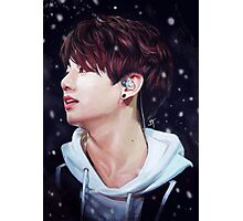 Snowy Jungkook Photographic Print