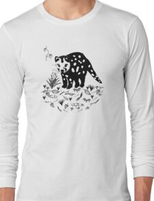 Spotted Tail Quoll- Dasyurus maculatus Long Sleeve T-Shirt