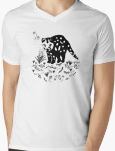 Spotted Tail Quoll- Dasyurus maculatus Mens V-Neck T-Shirt