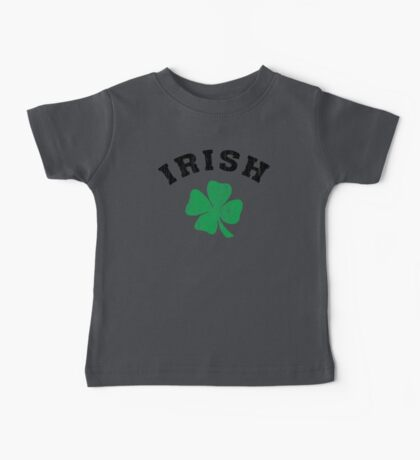 Irish Shamrock Baby Tee