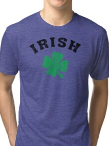 Irish Shamrock Tri-blend T-Shirt