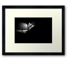 night heart Framed Print