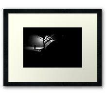 night heart Framed Print