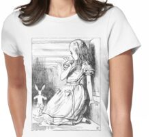 Follow The White Rabbit Womens Fitted T-Shirt