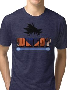 What would Goku do? Tri-blend T-Shirt
