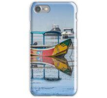 Mirrored Boats at Sanur Bali iPhone Case/Skin
