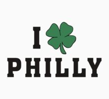 I Love (Shamrock) Philly One Piece - Short Sleeve