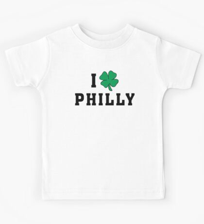 I Love (Shamrock) Philly Kids Tee