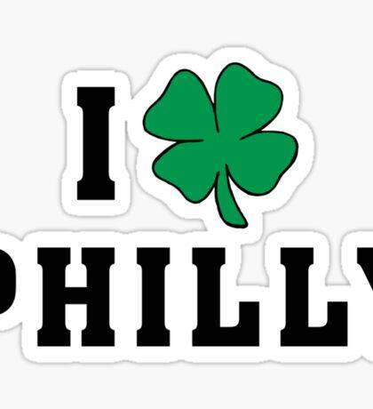 I Love (Shamrock) Philly Sticker