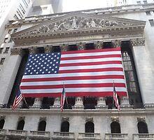 Classic Architecure, New York Stock Exchange, Wall Street, Lower Manhattan, New York City  by lenspiro
