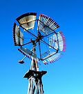 """""""Windmill with Fans"""" Part of a Series by waddleudo"""