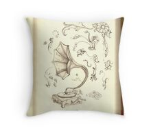 phonograph Throw Pillow
