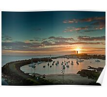 Wollongong Harbour Poster