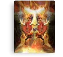 ARE YOU READY TO BURN ? Canvas Print
