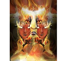 ARE YOU READY TO BURN ? Photographic Print