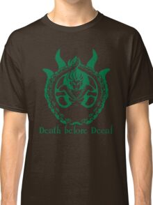 Death Before Decaf Siren Classic T-Shirt