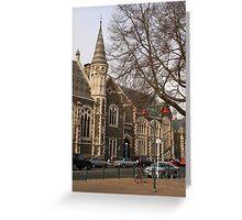 Christchurch pre-earthquake Greeting Card