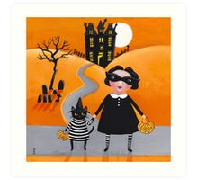 The Trick or Treaters Art Print
