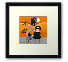 The Trick or Treaters Framed Print