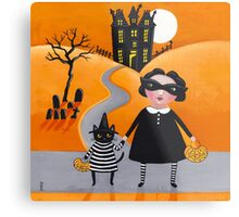 The Trick or Treaters Metal Print