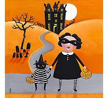The Trick or Treaters Photographic Print