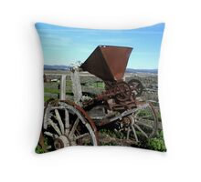 """Feeling Chipper?"" Throw Pillow"