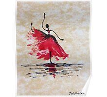 Lithe Dancer Poster