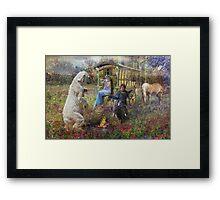 Dance of The Brakenwood Gypsies Framed Print