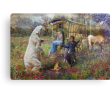 Dance of The Brakenwood Gypsies Canvas Print