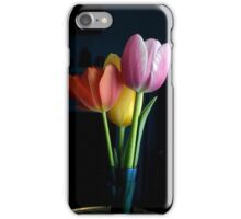Candy Coloured Tulips (#1) iPhone Case/Skin
