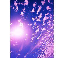 Cumulus Sun 3 Photographic Print