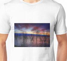 Sunrise on Devil's Lake, USA Unisex T-Shirt