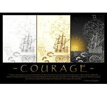courage (tri-panel) Photographic Print