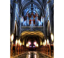 Pipe Organ - St Nicholas Cathedral Photographic Print