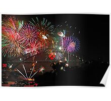 Sydney   New Years Eve 2010   Fireworks 9pm Poster