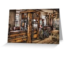 Steam Punk - The Press Greeting Card