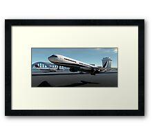 Jet Set Framed Print