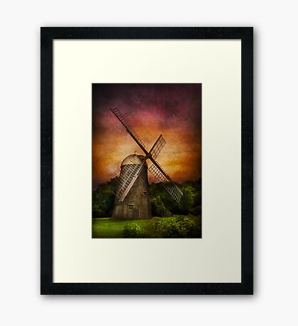 Other - Windmill Framed Print