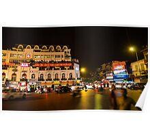 Hanoi at Night Poster