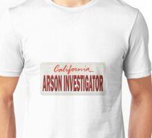 California Arson Investigator Unisex T-Shirt