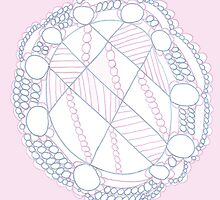 Pink Mandala by KazM